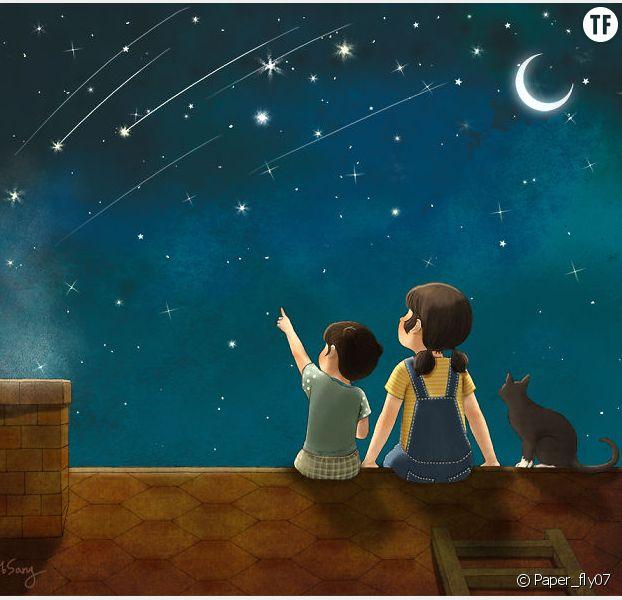 Cette illustratrice a parfaitement dessiné le bonheur de grandir avec une soeur