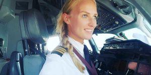Cette pilote de 24 ans devient un phénomène sur Instagram