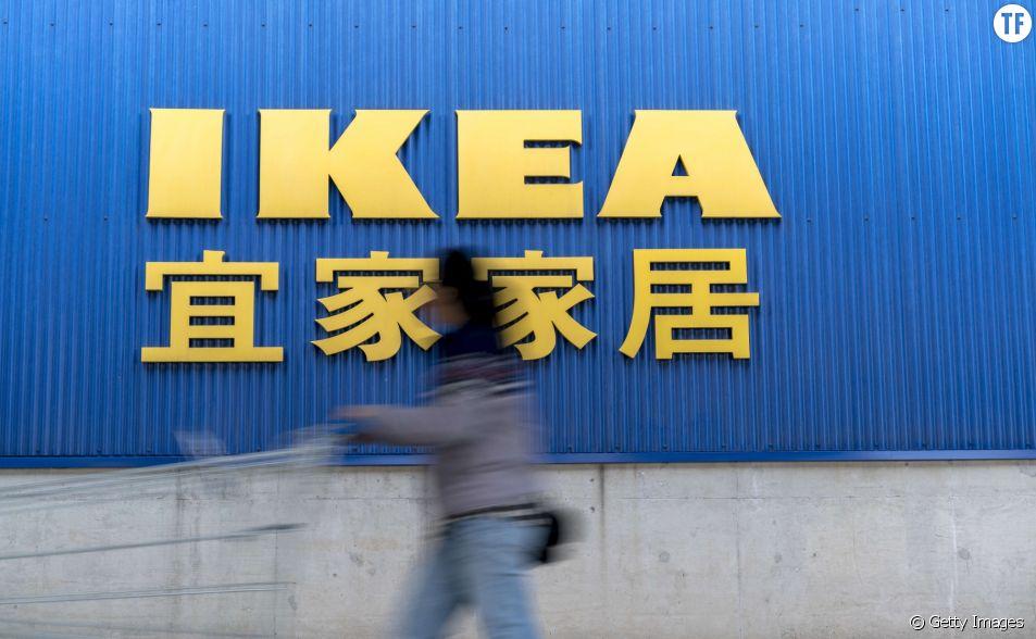 Ikea diffuse une publicité jugée sexiste en Chine.