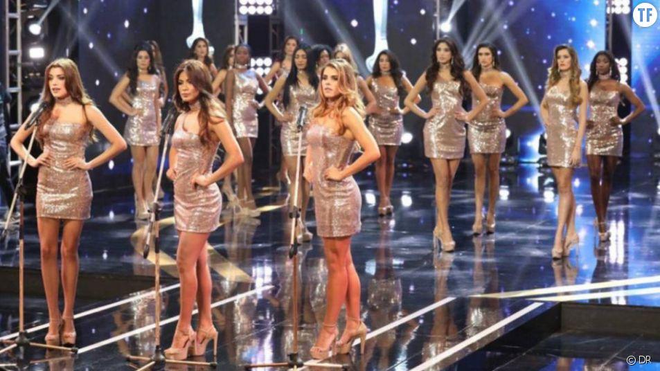 L'élection de Miss Pérou 2018, le 29 octobre 2017 à Lima.