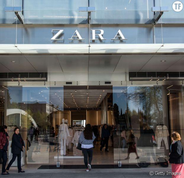 Photo d'illustration d'un magasin Zara, situé à Madrid en Espagne.