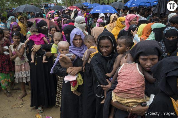 82% des rohingyas installés au Bangladesh sont des femmes et des enfants.