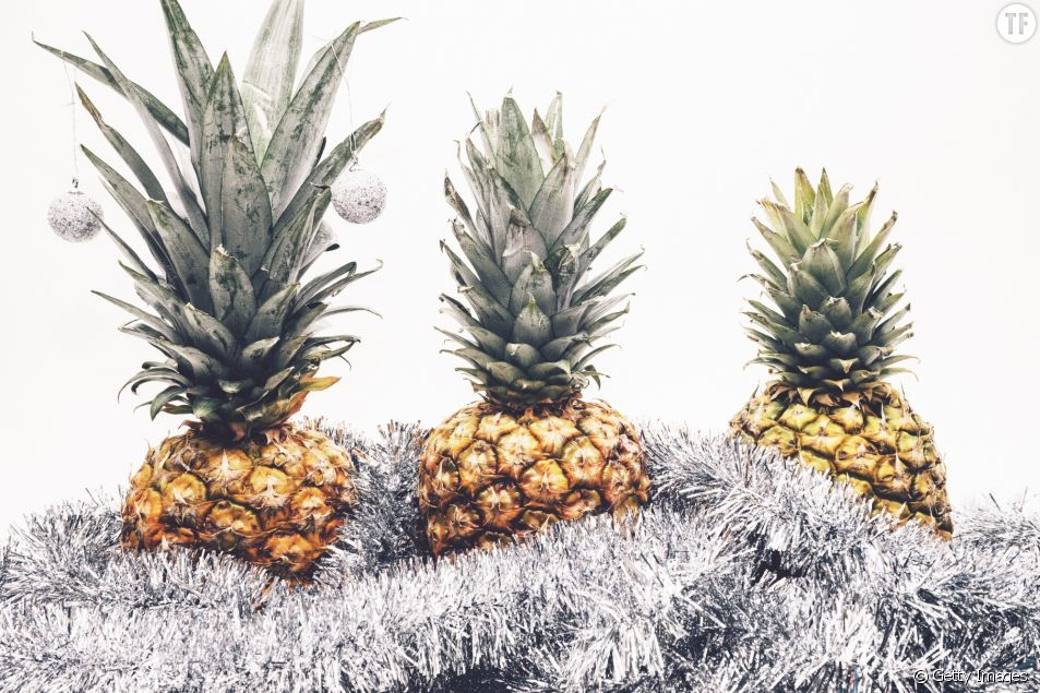 Des ananas de Noël.