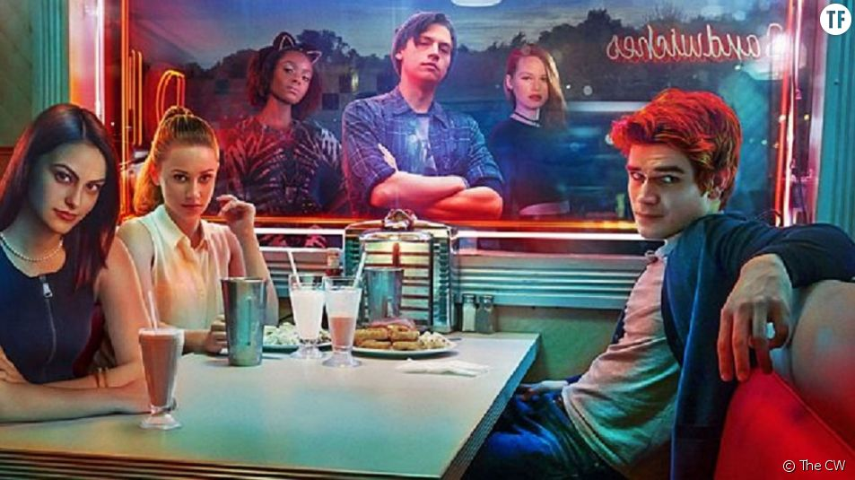 Affiche promo Riverdale, saison 2, The CW.