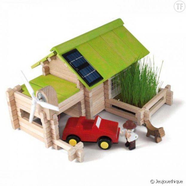 Chalet écologique avec énergie solaire