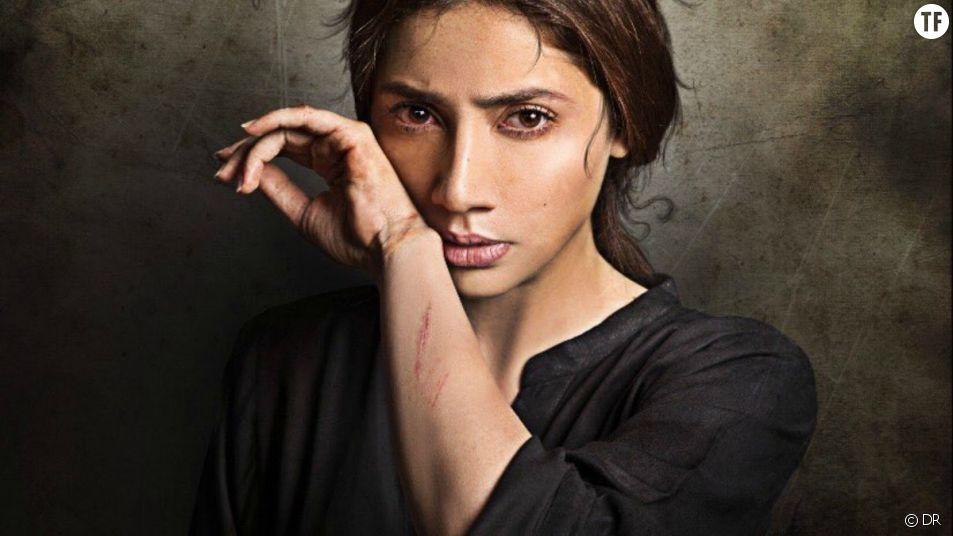 """Mahira Khan qui tient le rôle principal dans """"Verna""""."""