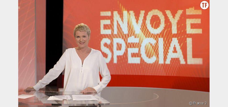 Elise Lucet dans Envoyé Spécial