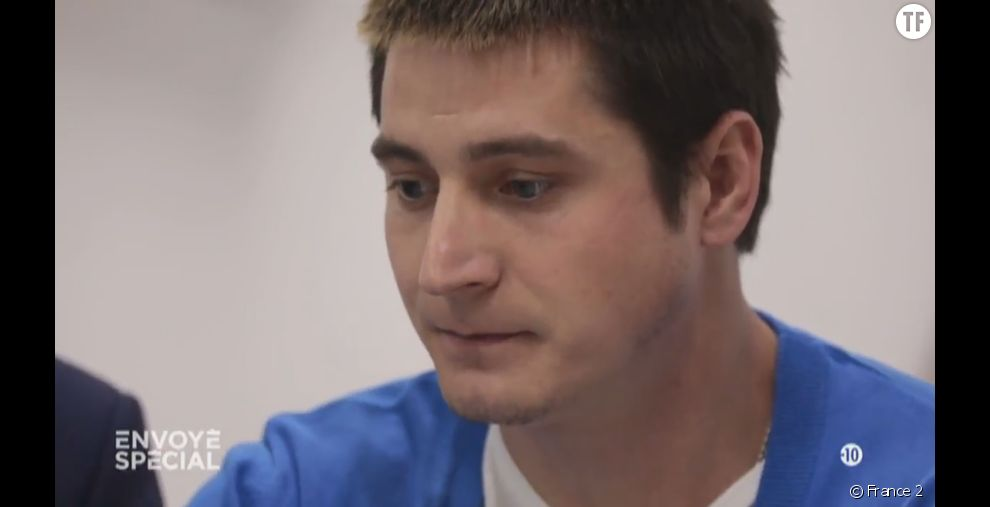 Maxime, jeune homosexuel   tchétchène dans Envoyé Spécial