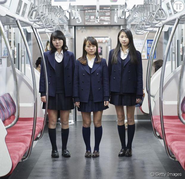 Photo d'illustration d'étudiantes japonaises en uniforme.