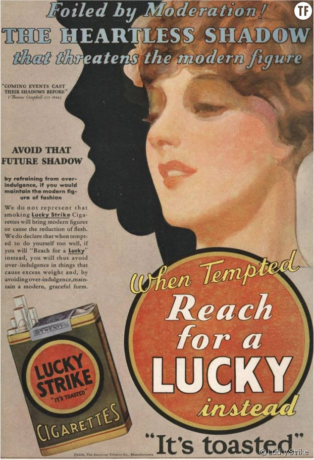 Pub Lucky Strike, 1930