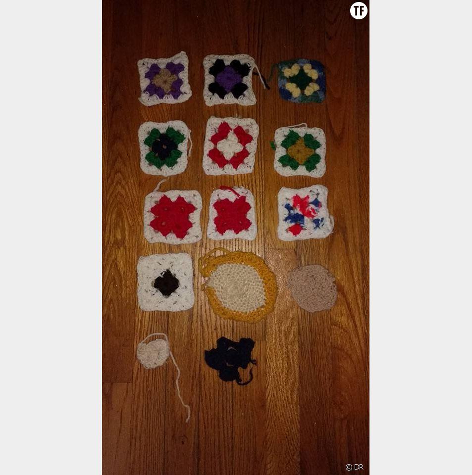 Une photo de tricot pour illustrer la maladie d'Alzheimer