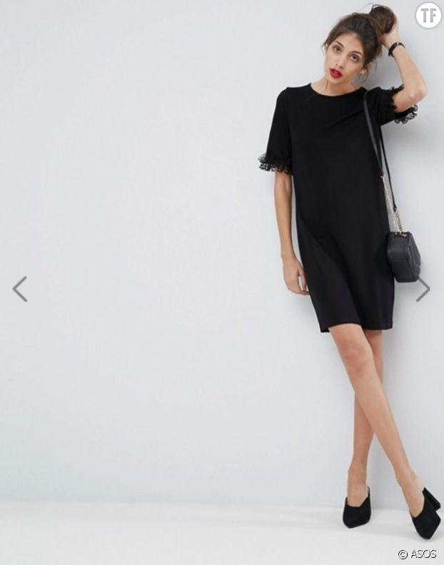 Petite robe tee-shirt ASOS