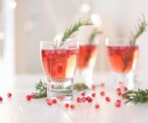 La recette du Christmas Spritzer, la star des cocktails de Noël