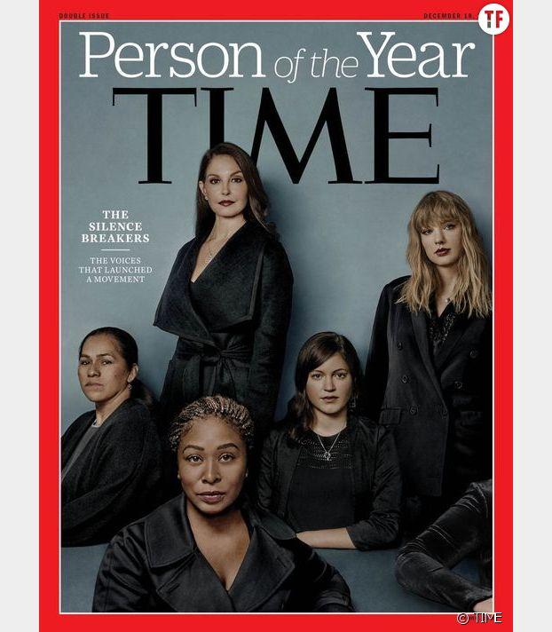 """La couverture de Time Magazine rend hommage aux """"silence breakers"""""""