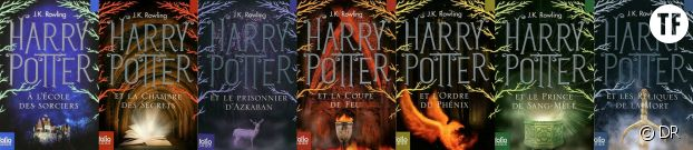 Les sept tomes d'Harry Potter.