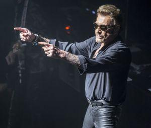 Johnny Hallyday en concert à Barcelone en 2016