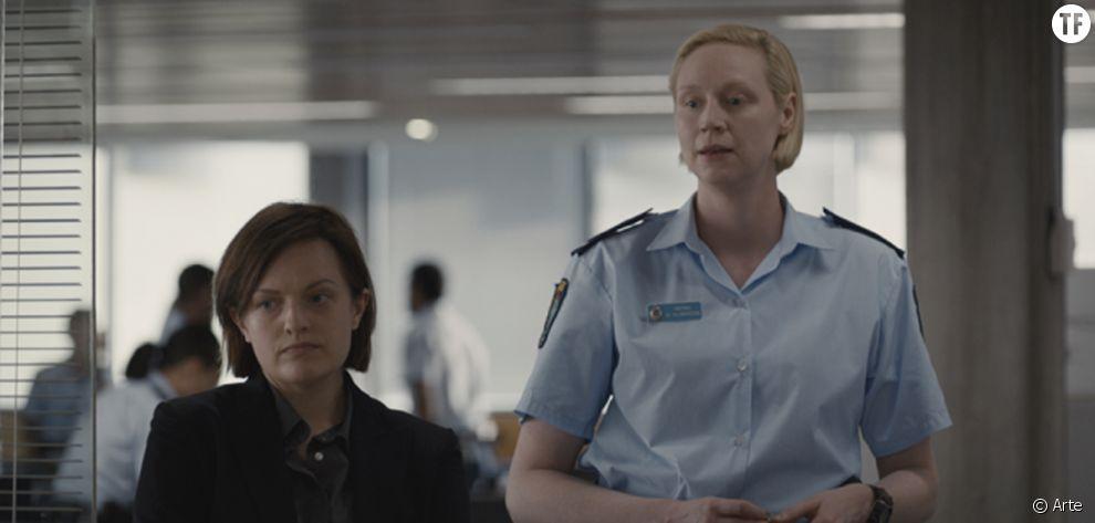 Elisabeth Moss et Gwendoline Christie dans la saison 2 de Top of the Lake
