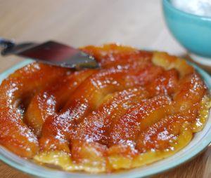L'appétissante recette de tarte tatin aux bananes