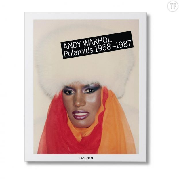 "Photo de couverture de ""Andy Warhol, Polaroids 1958-1987""."