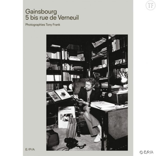 "Photo de couverture de ""Gainsbourg 5 bis rue de Verneuil""."
