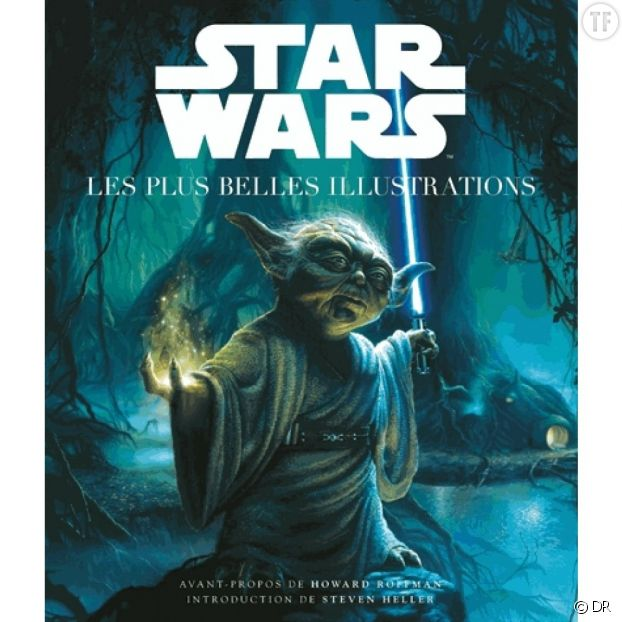 "Photo de couverture de ""Stars Wars : Les plus belles illustrations""."