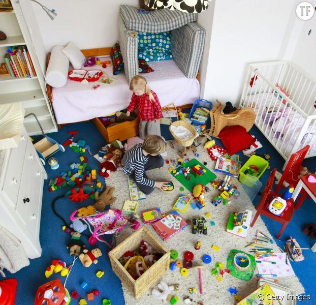 Trop de jouets est mauvais pour le développement des tous-petits