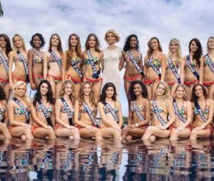 Les candidates de Miss France 2018 en maillot de bain