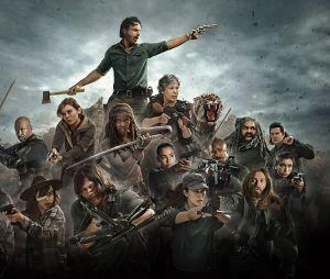 Le cast de la saison 8 de The Walking Dead