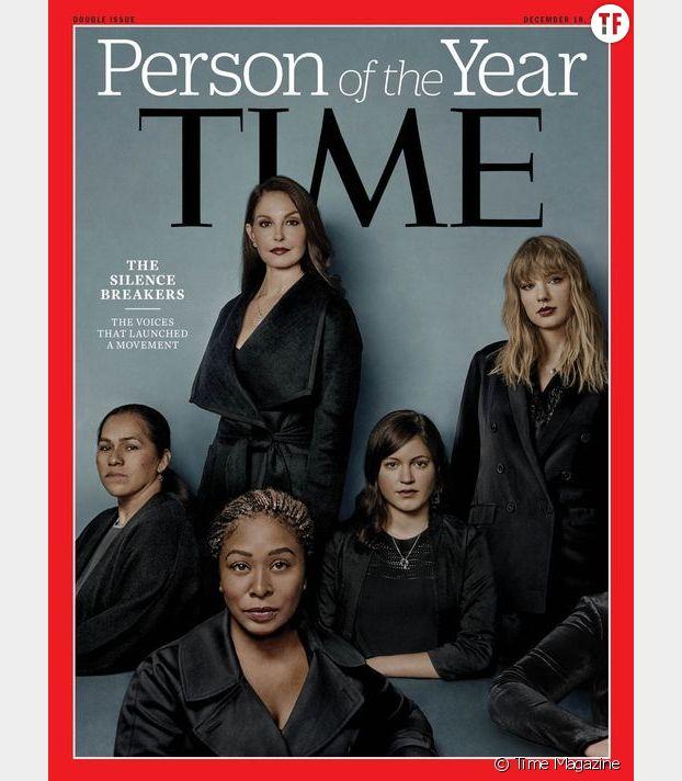 """La Une du Time Magazine consacrant les """"briseuses de silence"""" en personnalité de l'année 2017"""