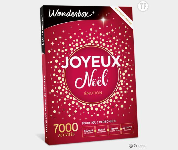 Le coffret Wonderbox spécial Noël.