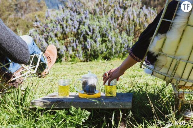 Boire du thé diminue le stress