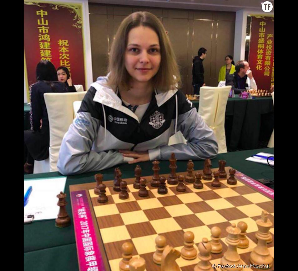 Anna Muzychuk, 3e championne du monde d'échecs