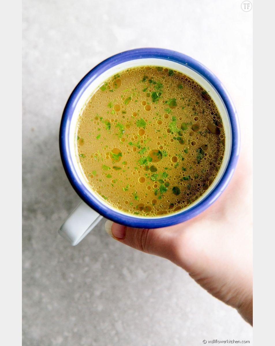 La recette du bouillon de légumes