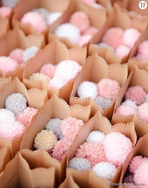 Les confettis pom-pom