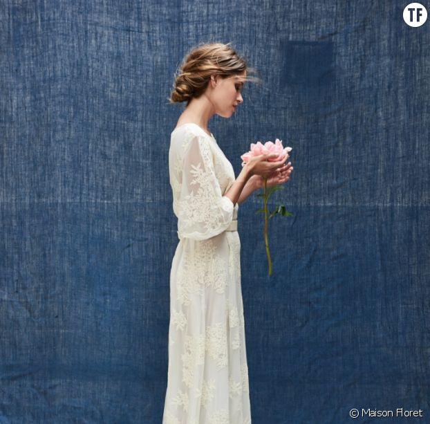 Robe de mariée Edgar chez Maison Floret