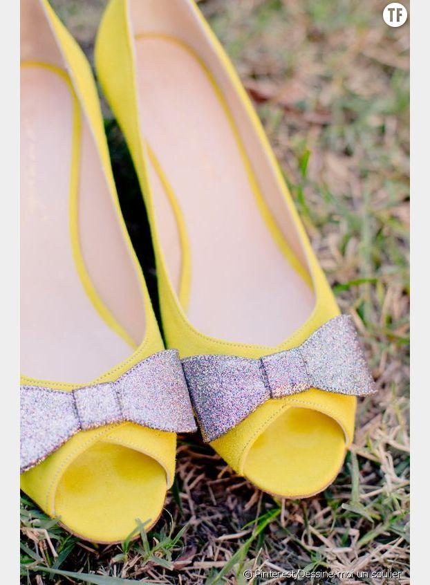 Des souliers colorés