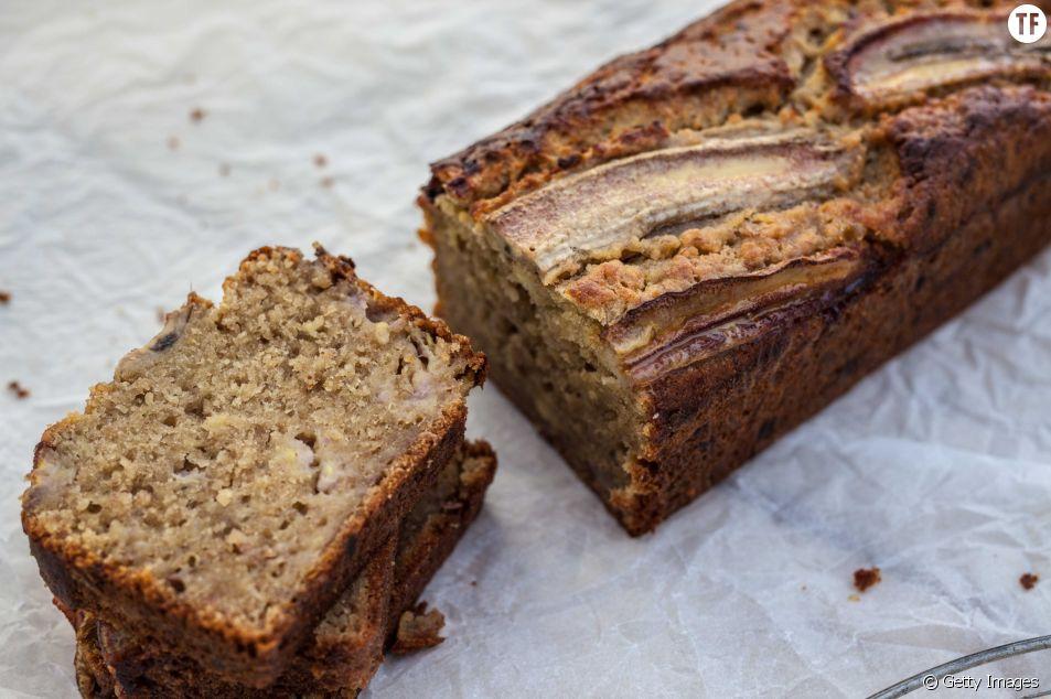 La recette healthy et gourmande du pain à la banane