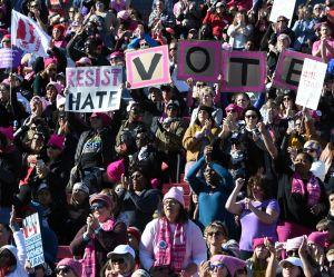 Women's March : les femmes à nouveau mobilisées pour faire chuter Trump