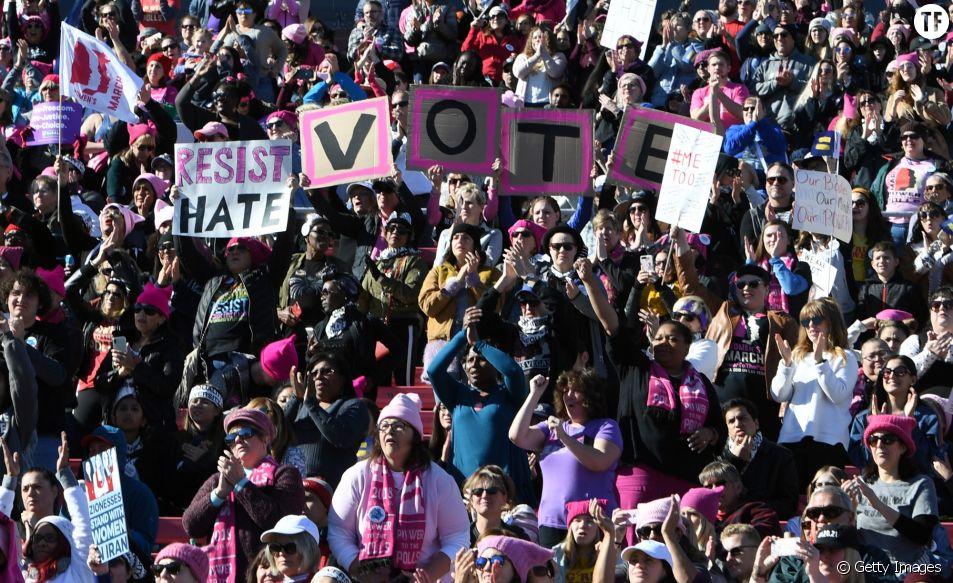 La Women's March organisée à Las Vegas le 20 janvier 2018