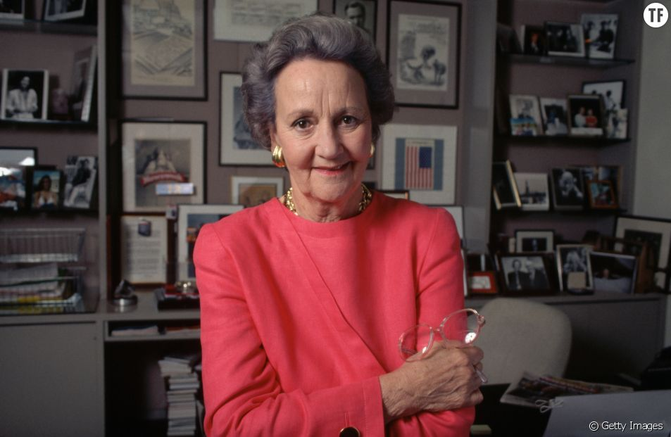 Katharine Graham, propriétaire et éditrice du Washington Post de 1963 à 1979.