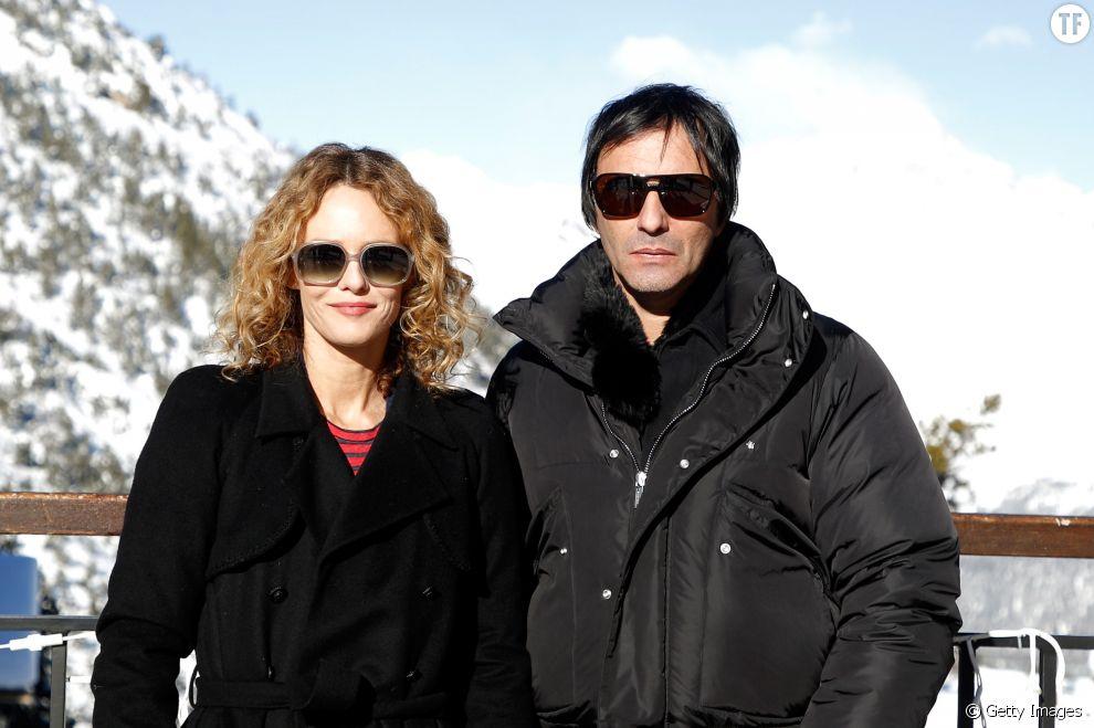 Vanessa Paradis et Samuel Benchetrit au festival du Film européen des Arcs ele 20 décembre 2017