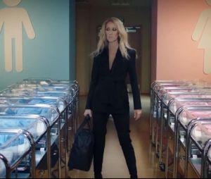 Céline Dion dans son clip pour Nununu