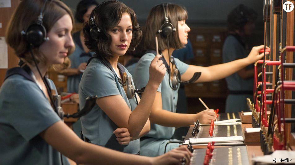 """Extrait de la série espagnole """"Las Chicas del cable"""""""
