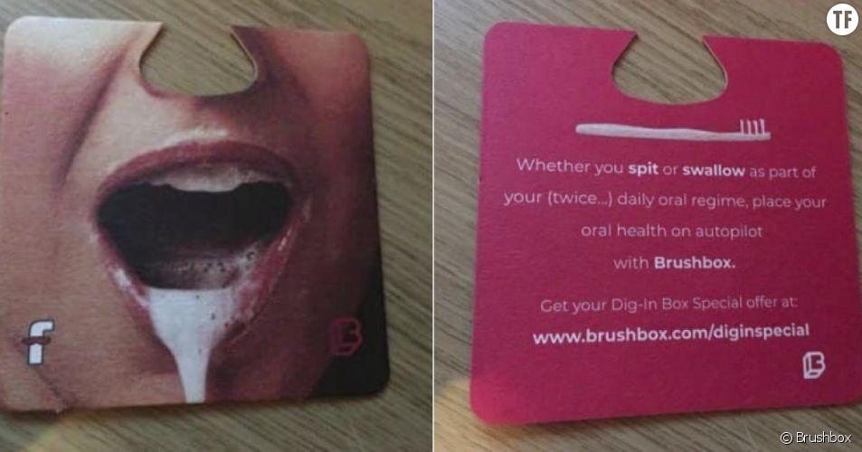 Une publicité très sexiste pour une brosse dent fait polémique sur la toile