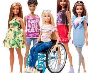 Barbie sort de nouvelles poupées en fauteuil roulant et prothèse