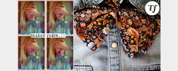 Mode : Balzac Paris dépoussière le nœud papillon
