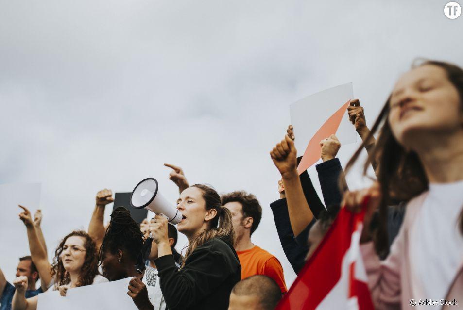 Grève des femmes en Suisse.