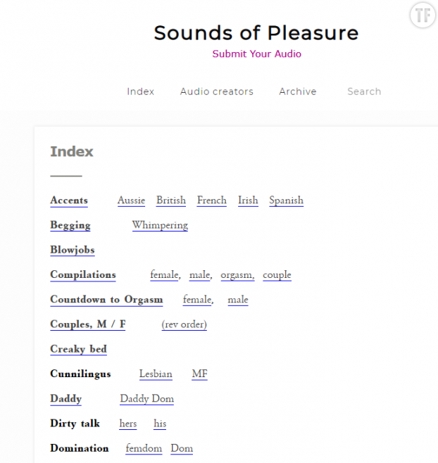 Sounds of Pleasure - Tumblr -