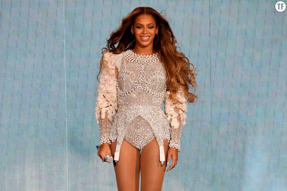 La superstar Beyoncé lance le #BrownSkinGirlChallenge. Getty Images.