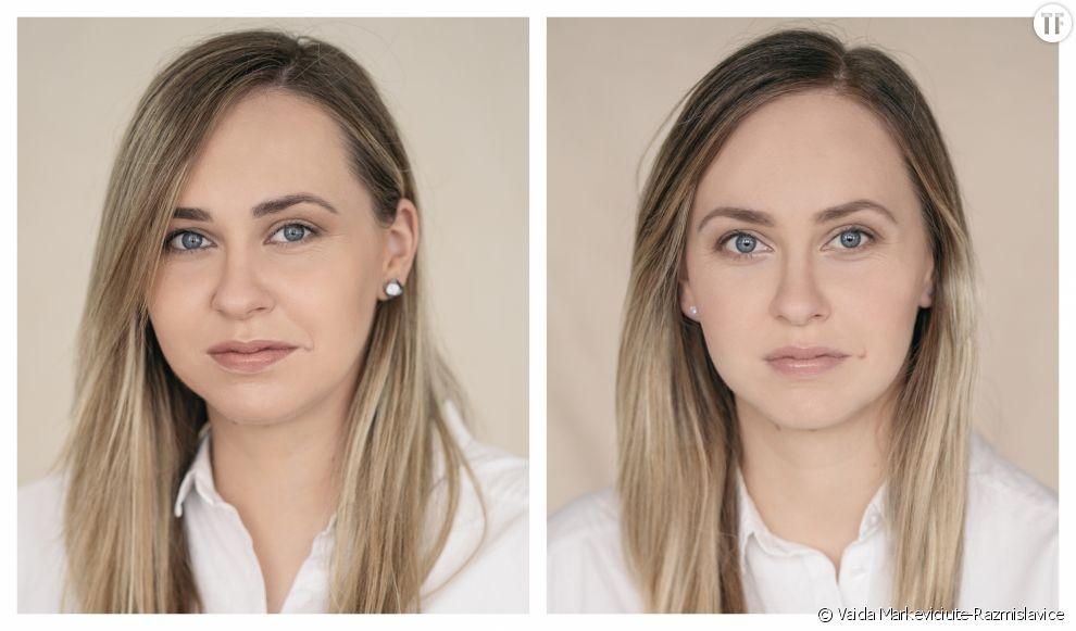Elle photographie les femmes avant et après l'accouchement